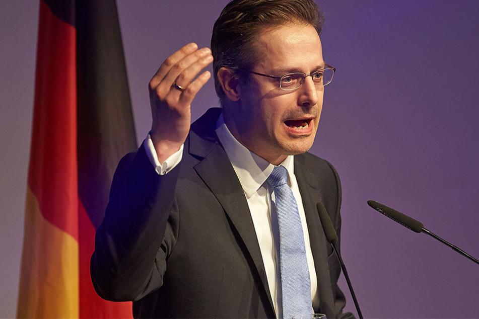 Markus Pretzell (44), Vorsitzender der NRW-AfD, fordert eine Neuauszählung der Stimmen.