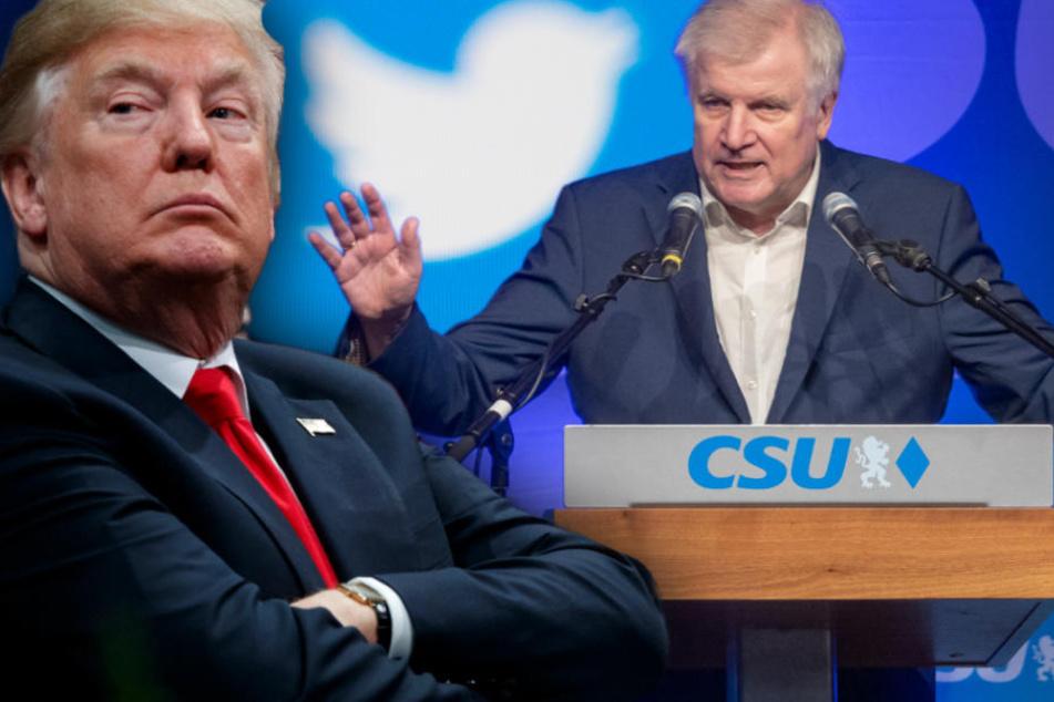 Donald Trump als Vorbild? Horst Seehofer will jetzt auch twittern