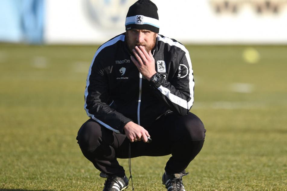 Daniel Bierofka übte nach der Pleite Kritik an seiner Mannschaft, fand jedoch auch lobende Worte.