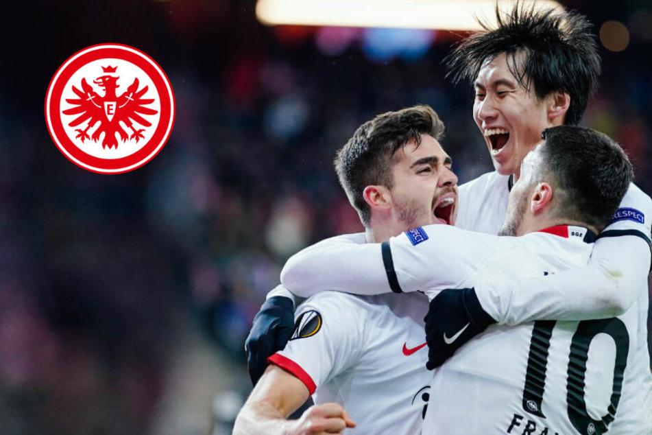 Silva-Treffer ziehen Salzburg den Zahn: Eintracht Frankfurt im Achtelfinale