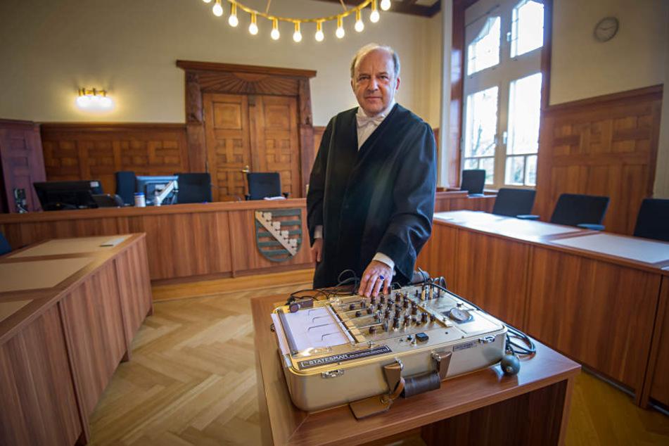 Der Bautzner Strafrichter Dirk Hertle ließ nun zum zweiten Mal das Ergebnis des Polygrafen in ein Urteil einfließen - ein Durchbruch?