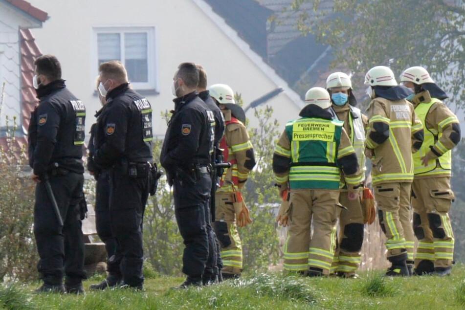 Verheerender Brand in Bremen! Vier Tote, darunter zwei Kinder