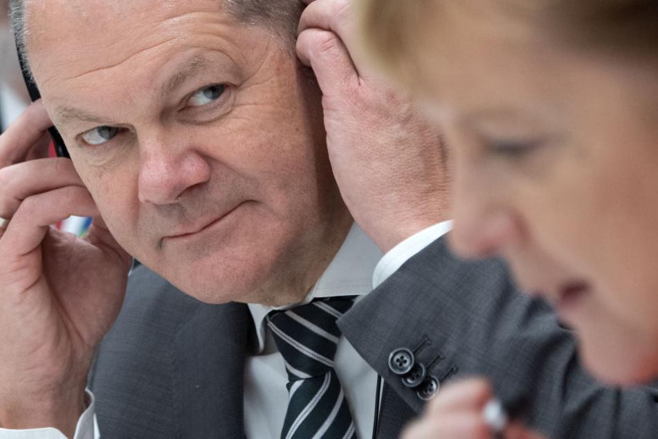 Olaf Scholz sieht sich gewachsen: Hamburgs Ex will Kanzler werden!
