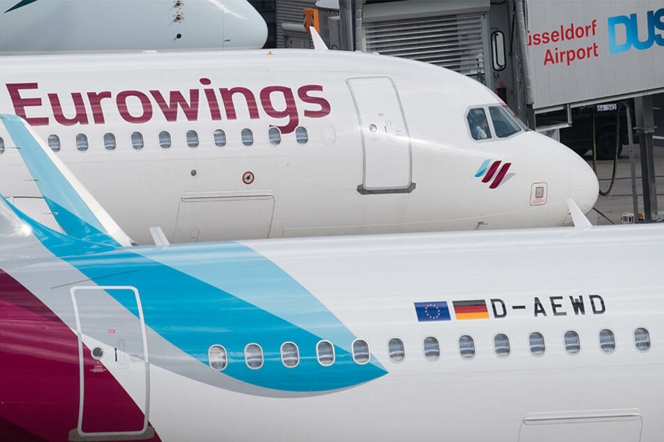 Die Arbeitsbedingungen bei Eurowings stehen regelmäßig in der Kritik.
