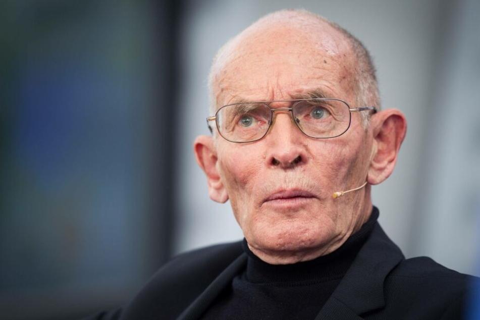 Cornelius Weiss (86), 1991 bis 1997 Rektor der Uni Leipzig, spricht von einem schäbigen Umgang Deutschlands mit seinen neuen Bürgern nach der Wiedervereinigung.