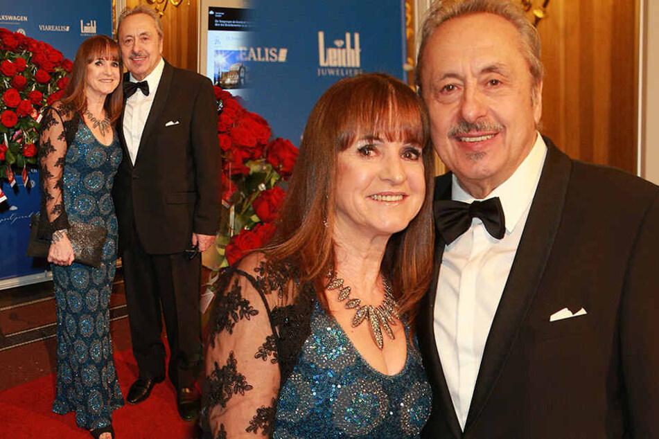 Schauspieler Wolfgang Stumph (71) und seine Ehefrau Christine.