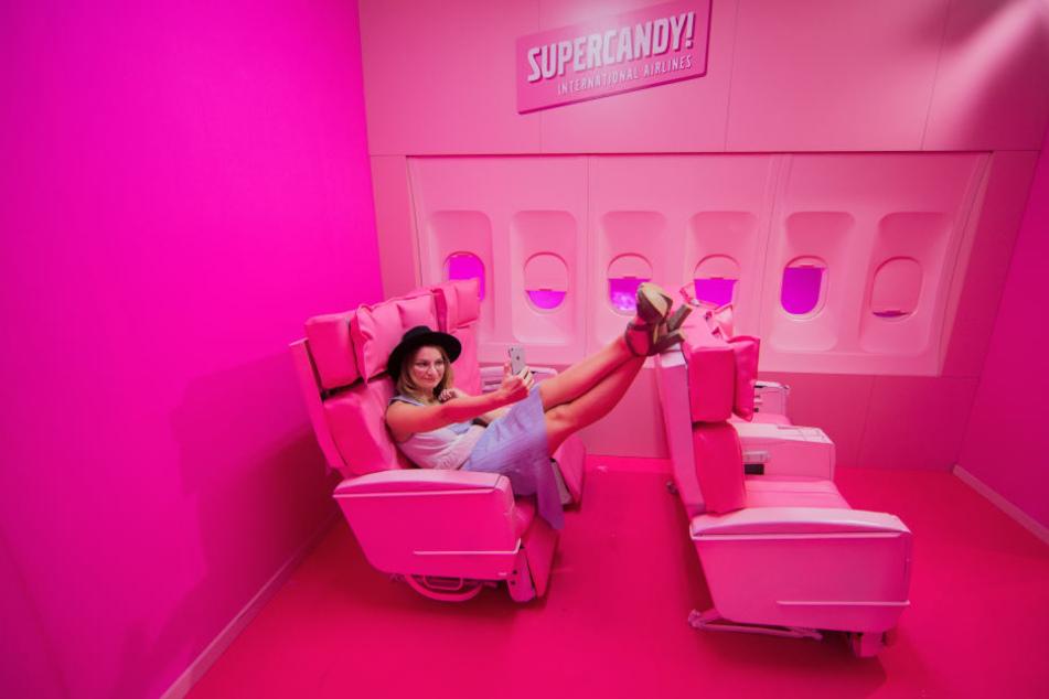Im Supercandy-House ist die Welt noch rosa.