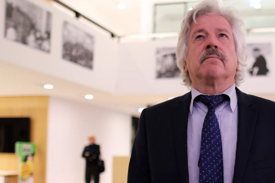 Das Foto zeigt den AFD-Politiker Rainer Rahn im Oktober 2018 im hessischen Landtag.