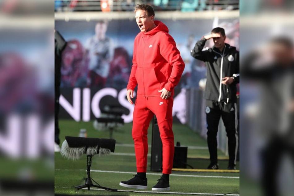 Beendete die vier Pflichtspiele andauernde Durststrecke: RB-Trainer Julian Nagelsmann (32).