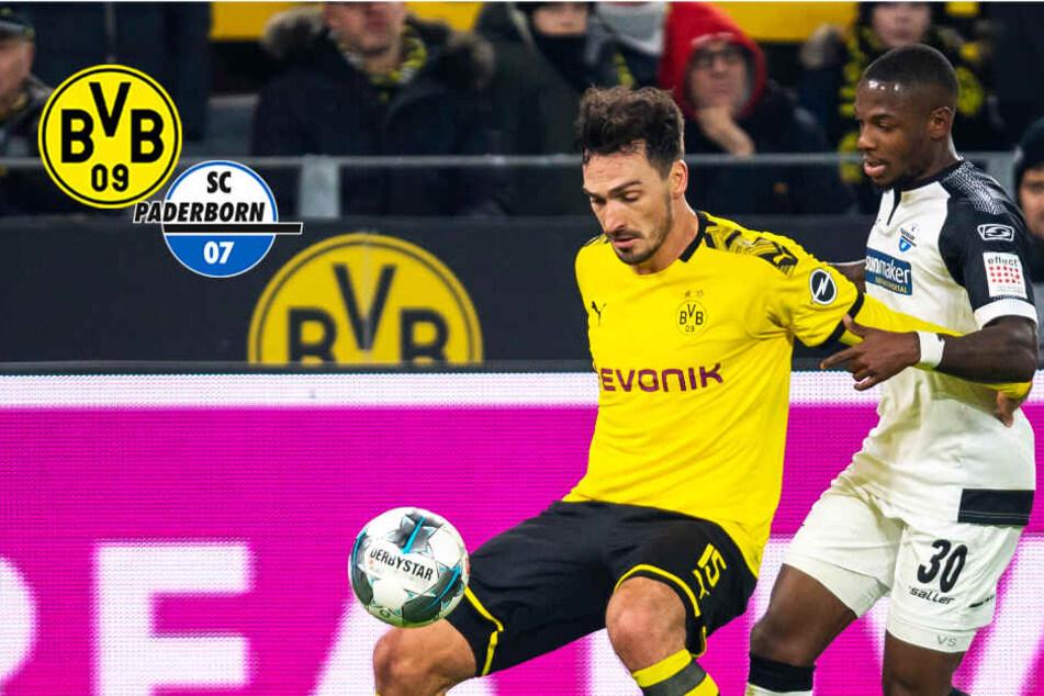 Irres BVB-Comeback: Dortmund holt 0:3-Rückstand gegen Paderborn auf!