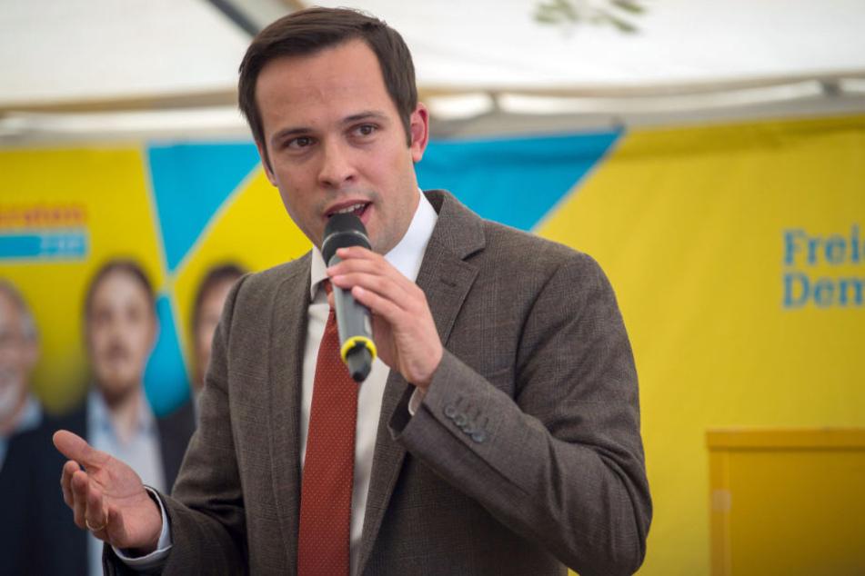 Martin Hagens Ziel für die FDP bei der bayerischen Landtagswahl ist acht Prozent.