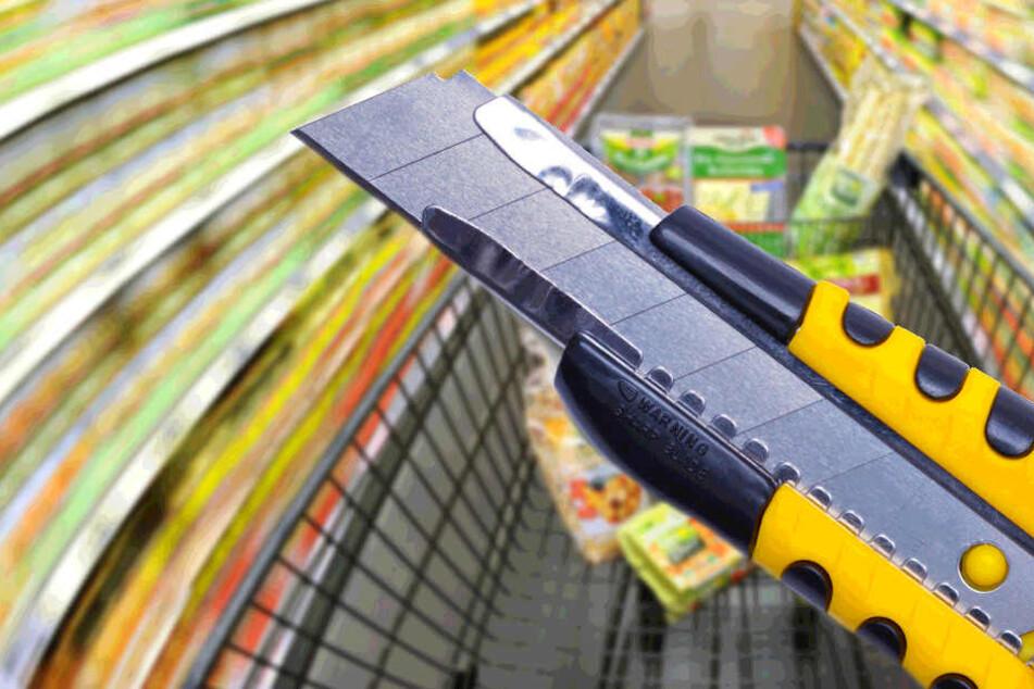 Die in dem Supermarkt gefundenen Klingen stammten von einem Teppichmesser (Symbolbild).