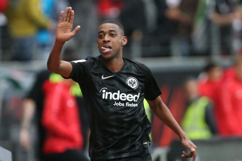 Eintrachts Mittelfeld-Motor Gelson Fernandes wurde das Opfer einer widerlichen Rassismus-Attacke.