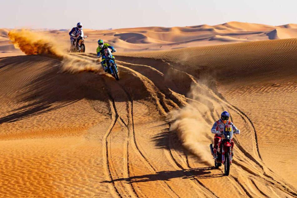 Dass die Dakar nicht immer so idyllisch ist, wie auf diesem Bild, beweist der zweite Todesfall in diesem Jahr.