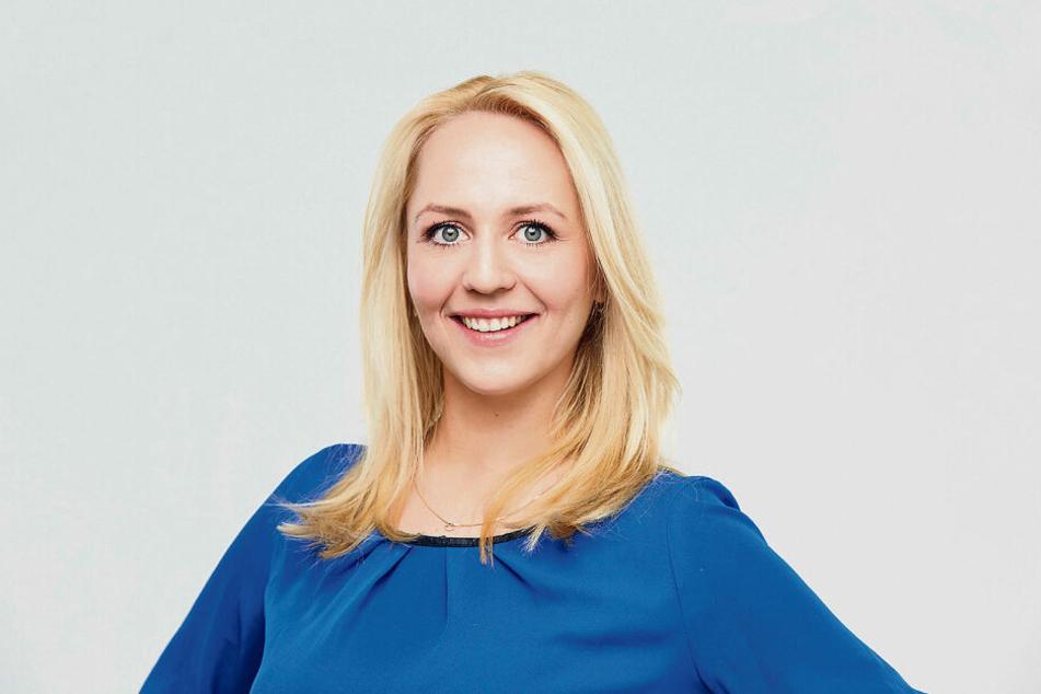 """Seit April steht Henriette Fee Grützner für das MDR-Magazin """"Einfach genial"""" vor der Kamera."""