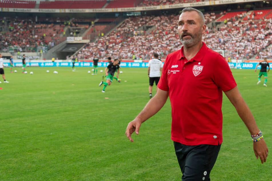 Seit dem Antritt von Trainer Tim Walter (Foto) klagte Donis nicht über zu wenig Spielzeit.
