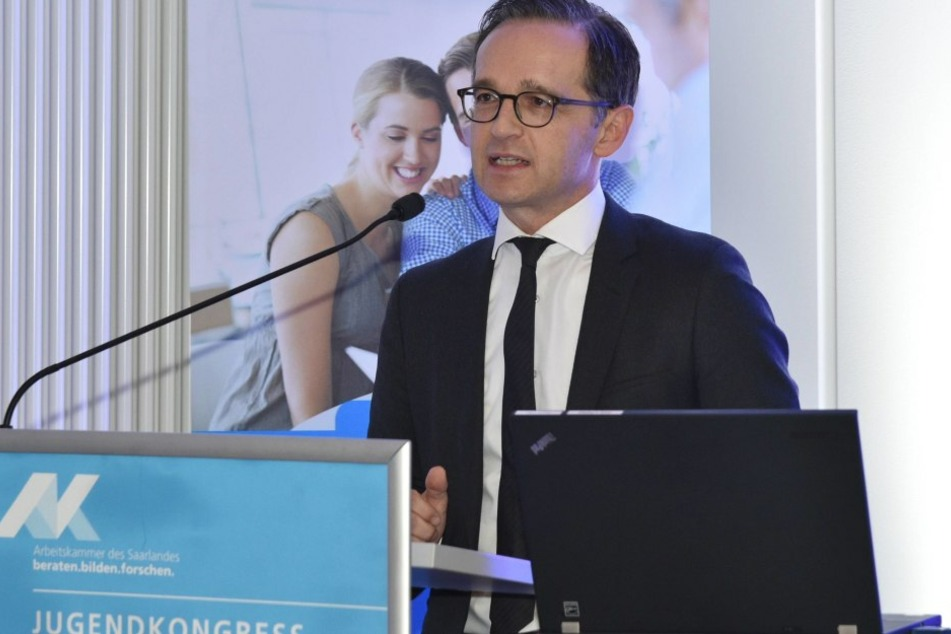 Heiko Maas kündigte am Freitag neue Maßnahmen zum Schutz der Polizisten an.
