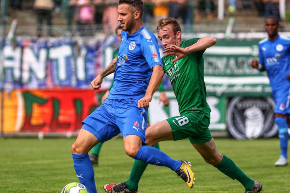 Mit konnte die BSG Chemie Leipzig im heimischen Alfred-Kunze-Sportpark gegen FSV Wacker Nordhausen drei Punkte verbuchen.