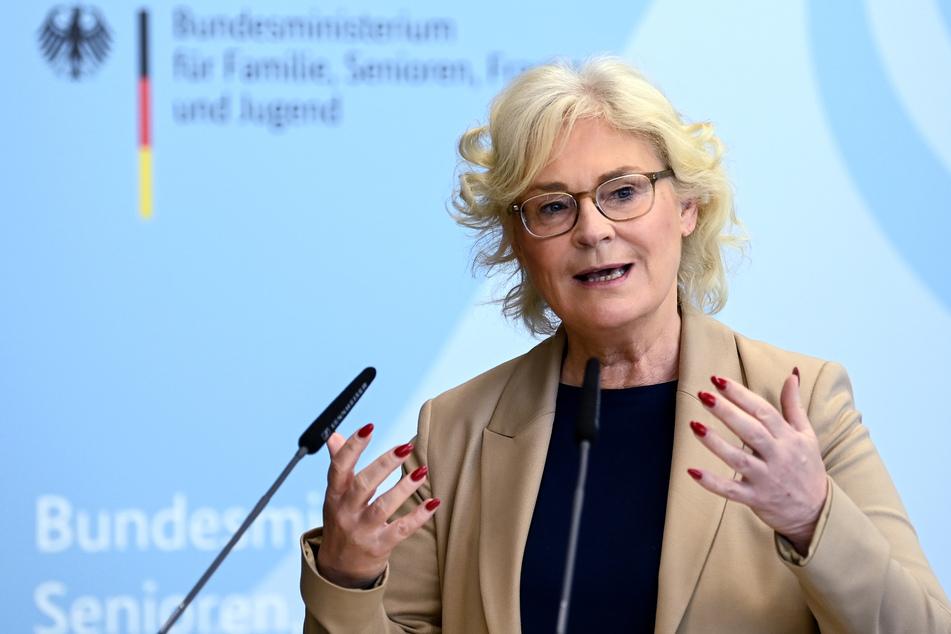 Christine Lambrecht (56, SPD), Bundesministerin der Justiz und für Verbraucherschutz.