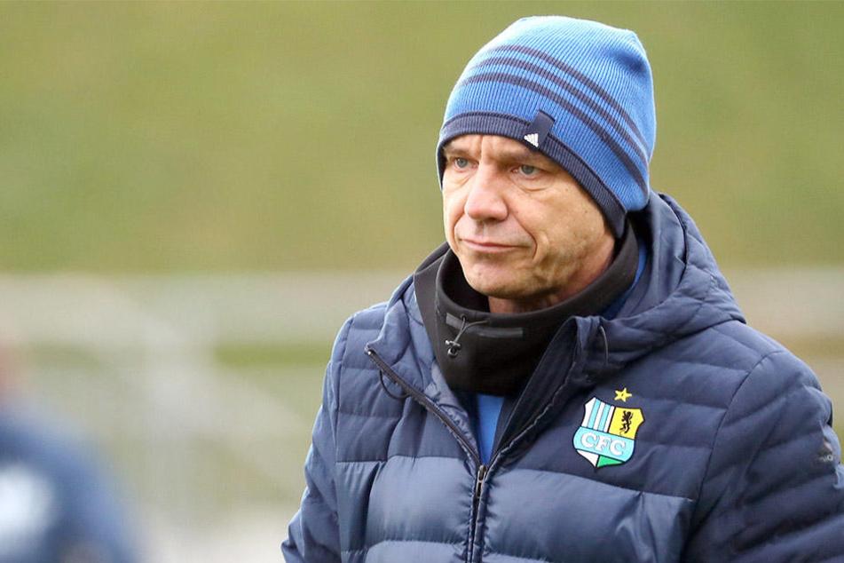 Trainer Horst Steffen zählt beim CFC zu den Verlierern.