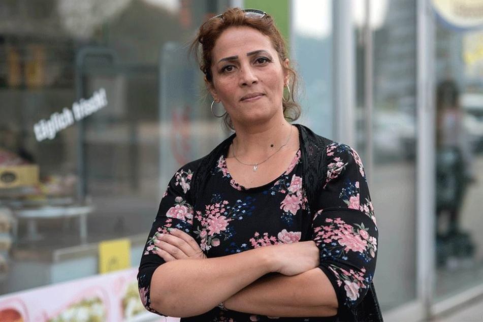 Sie hat Angst vor Übergriffen: Madiha Tajouri (42) aus Libyen.