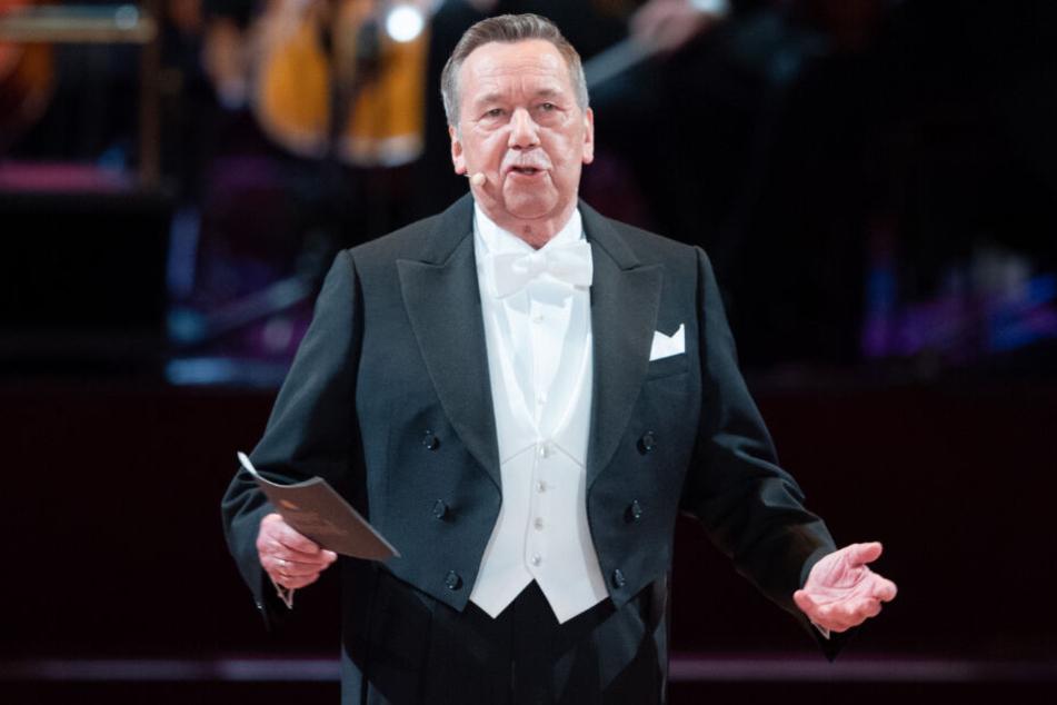 Roland Kaiser, Schlagersänger, moderiert den 15. SemperOpernball.