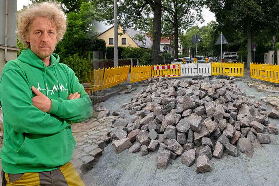 Asphalt-Ärger im Villenviertel: Ist jetzt der Straßenmeister schuld?