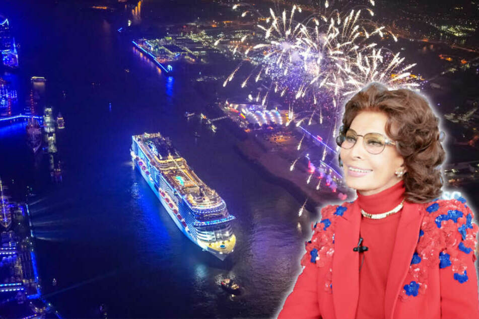 Special Guest bei der Grandiosa-Taufe: Filmschauspielerin Sofia Loren.