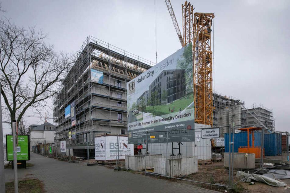 Hafencity: Dieses und andere Projekte krempeln das Elbufer in Dresden um