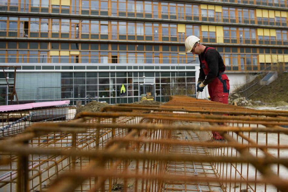 Das Baugewerbe in Thüringen schwächelt.