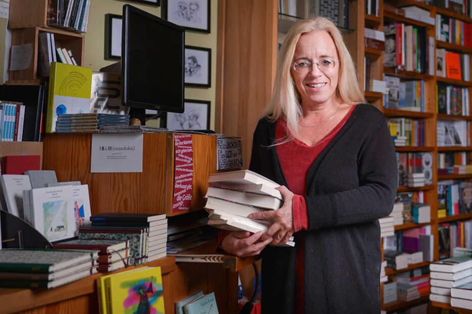 Buchhändlerin Susanne Dagen (46) hält den Rauswurf für rechtswidrig.