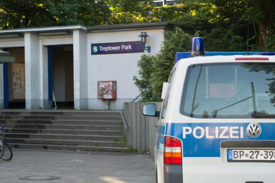 ed89ba3c14717 Der Berliner S-Bahnhof Treptower Park am Tag des Anschlags am 19. Juni 2017