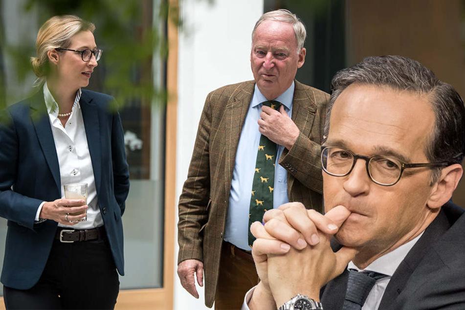 """Heiko Maas: """"Forderungen der AfD verfassungswidrig"""""""