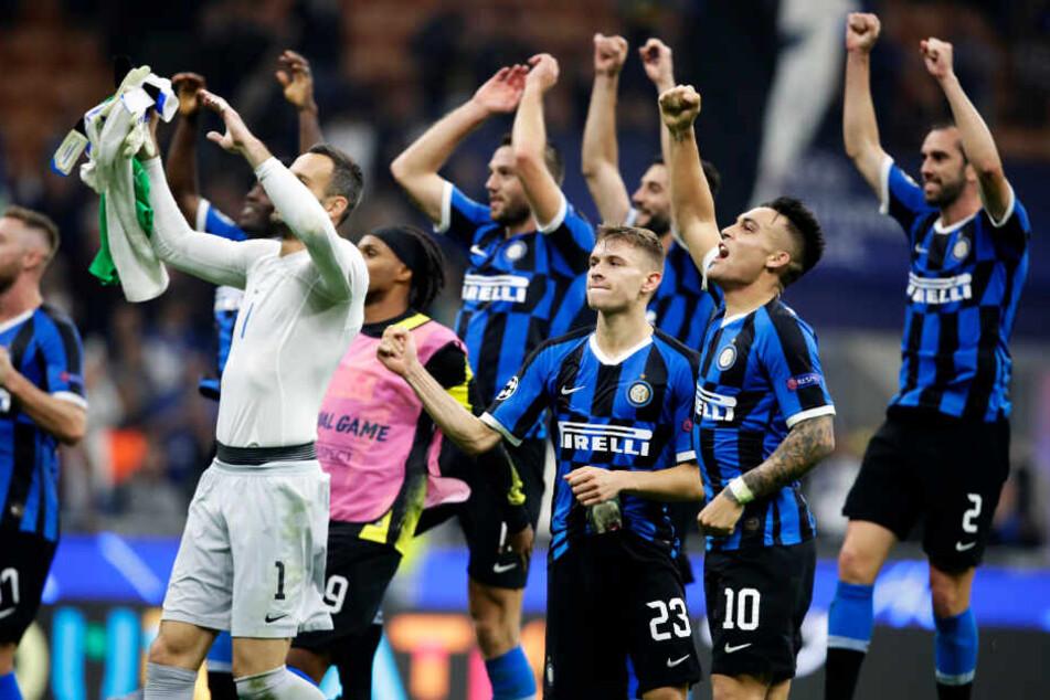 Sportlich läuft es bei Inter Mailand gerade in der Serie A richtig gut.