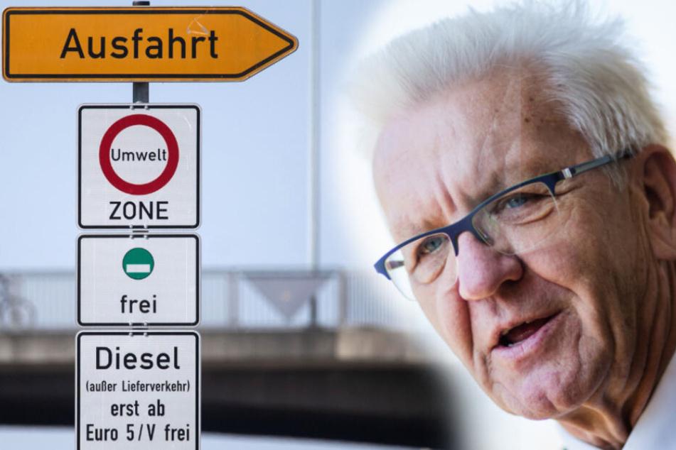 Fahrverbote für Euro-5-Diesel in Stuttgart noch nicht vom Tisch