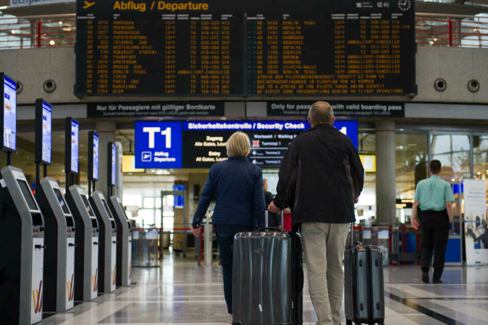 Zwölf Flieger beim Stuttgarter Flughafen mussten gestrichen werden. (Symbolbild)
