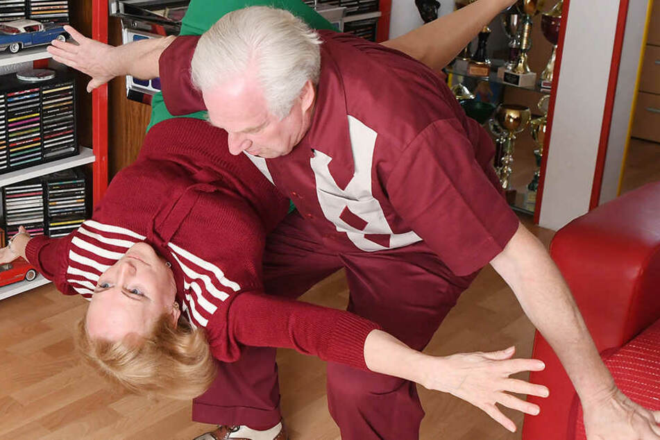 Dietmar (70) und Nellia (64) Ehrentraut sind keine Unbekannten in der Tanz-Szene.