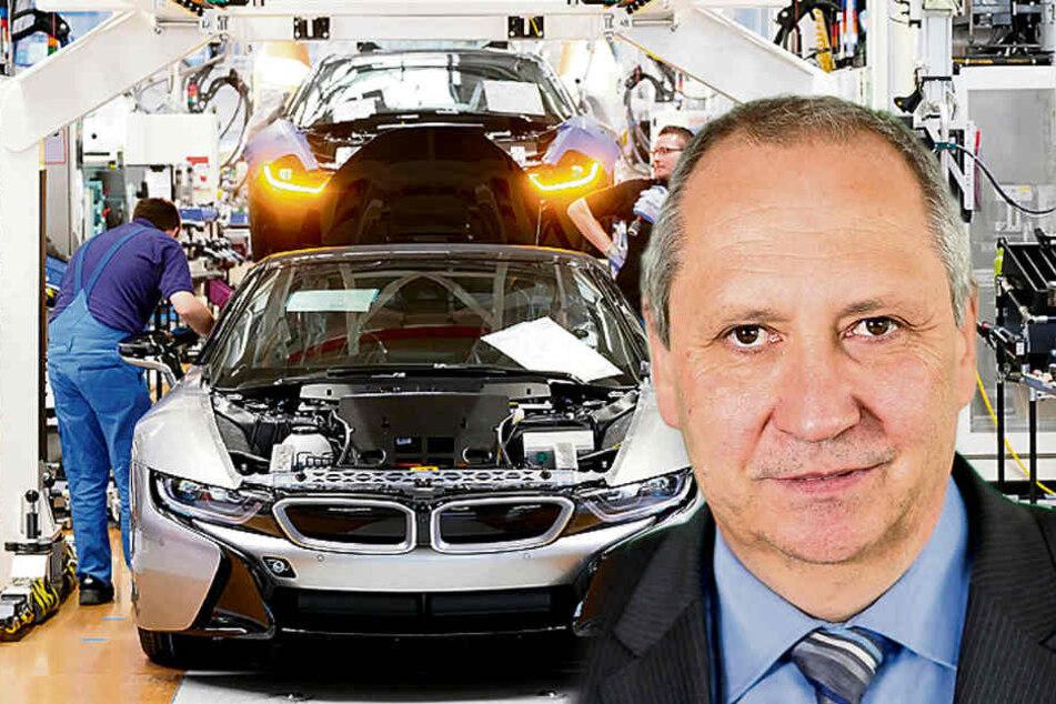Arbeitgeber-Präsident warnt Sachsens Industrie: Nach Boom-Jahr droht der Kater
