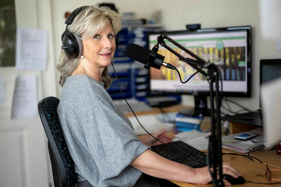 Viel ehrenamtliche Arbeit, darunter auch der Kontakt zu Mitstreiterinnen, findet zurzeit online statt.