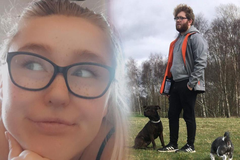 Tiffany Charlton (20) und Michael Downing (21) ließen ihren Hund Lola sterben.