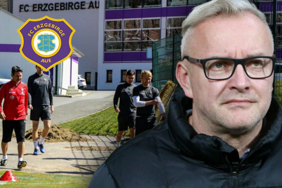 """Aue-Geschäftsführer Voigt: """"Rechnen täglich mit Kontrollen"""""""