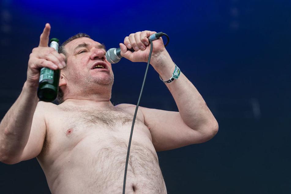 """Der Sänger der Band """"Die Kassierer"""", Wolfgang Wendland, würde bei einem Wahlsieg Atomminister werden."""