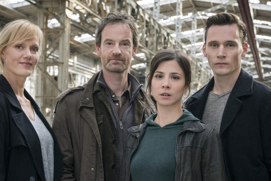 Dieses Quartett ermittelt im Tatort Dortmund (v.l.): Martina Böhnisch (Anna Schudt), Peter Faber (Jörg Hartmann), Nora Dalay (Aylin Tezel) und Jan Pawlak (Rick Okon).