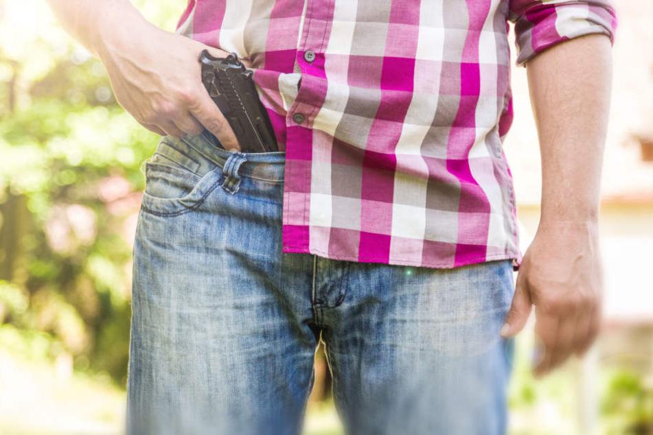 Einer der Angeklagten hatte sich mit der Polizei einen Schusswechsel im Maisfeld geliefert. (Symbolbild)