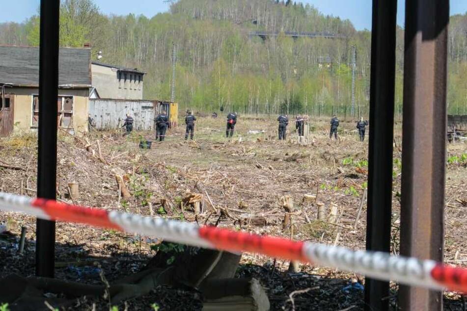 Die Leiche von Christopher W. wurde im April 2018 auf dem Gelände des alten Güterbahnhofs in Aue entdeckt.