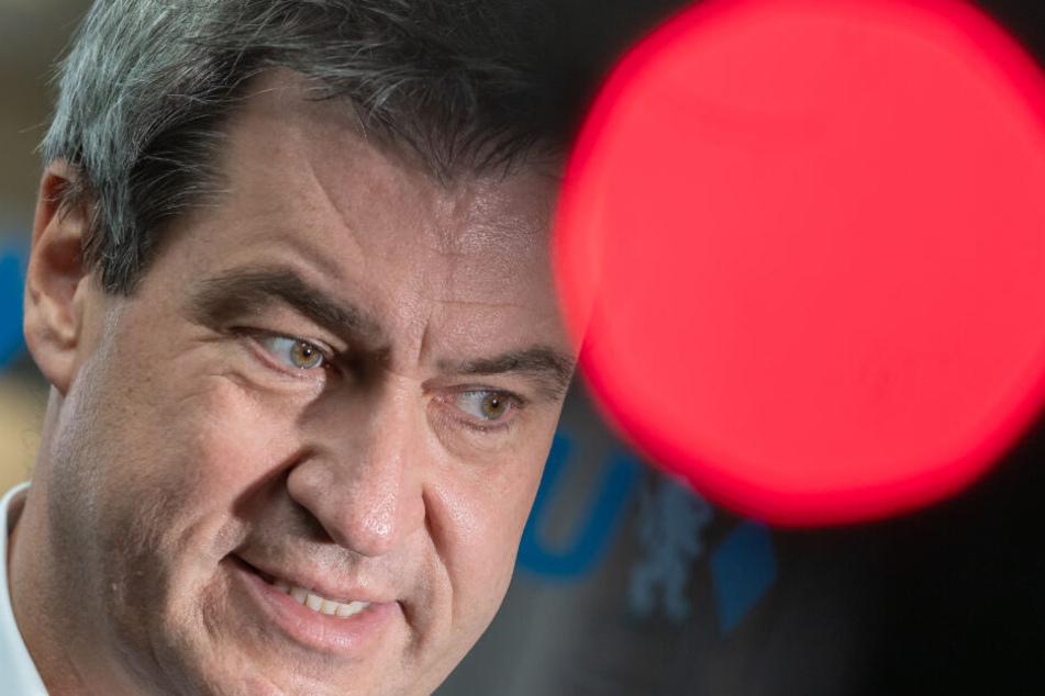 Markus Söder (CSU), CSU-Parteivorsitzender und Ministerpräsident von Bayern, übt scharfe Kritik an der AfD.