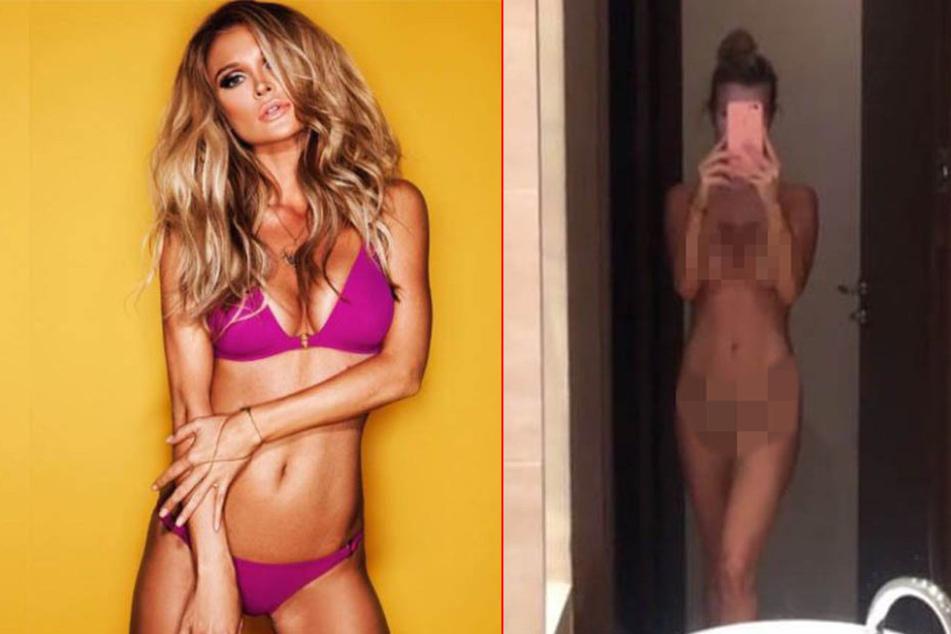 Joanna Krupa überrascht mit Nacktbild im Bad