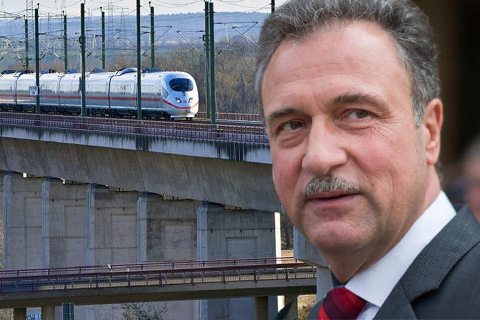 Weselsky gilt als harter Verhandlungspartner und hat schon für manchen Lokführer-Streik gesorgt. (Bildmontage)