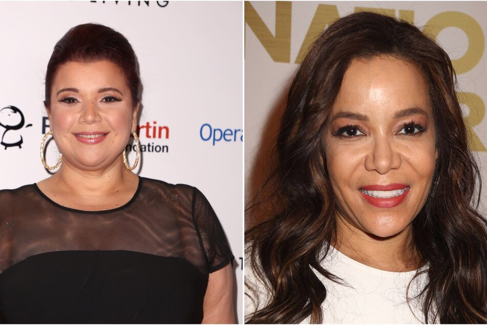 On Friday, The View cohosts Sunny Hostin and Ana Navarro left mid-air, testing positive for Covid-19 before Kamala Harris' interview.