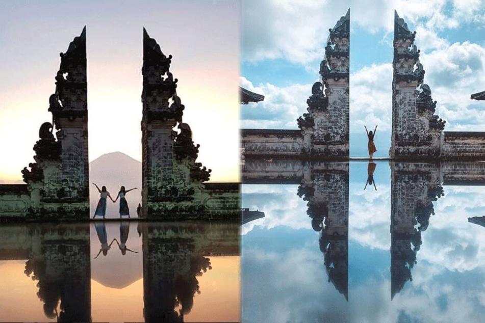 Auf Instagram finden sich etliche Bilder der vermeintlichen Himmelspforte.